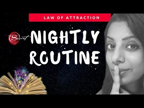10 Powerful Nightime Habits For Manifestation Nightly manifestation Routine Ritual
