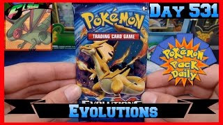 Pokemon Pack Daily Evolutions Booster Opening Day 531 - Featuring Flygon by ThePokeCapital