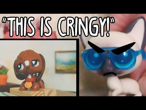 My MOM reacts to my LPS series... does she like it? 😬