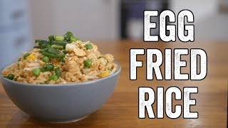 Egg Fried Rice Recipe by  My Virgin Kitchen