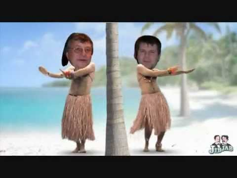 The Green Onion Hula Dance Starring Marco M & Tony D LMFAO!.wmv