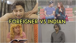 Video Foreigner Vs Indian | Harsh Beniwal MP3, 3GP, MP4, WEBM, AVI, FLV April 2018