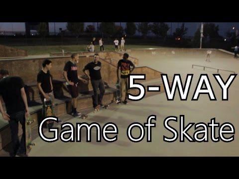 5 Person Game of Skate - Overland Park, Kansas