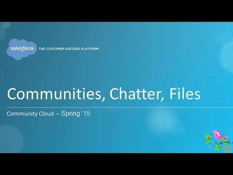 Spring '15 - Community Cloud