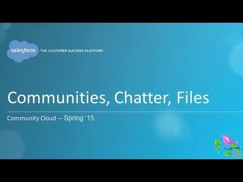 Spring '15 - Community Cloud