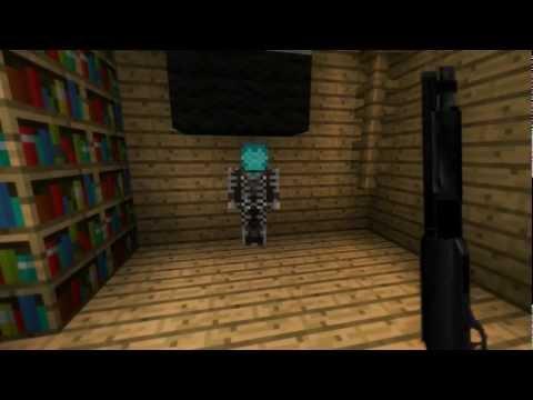 Minecraft Easter Alien Abduction