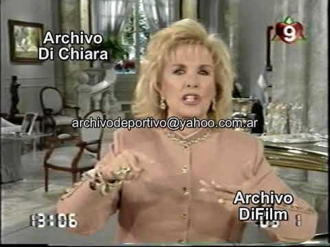 Mirtha Legrand enojada por lo que dicen de su herencia 1995 DiFilm