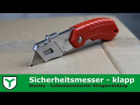 Stanley Cuttermesser Teppichmesser Sicherheitsmesser klapp