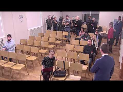 Veselības ministreIlze Viņķele piedalās preses konferencē par Ministru kabineta sēdē pieņemtajiem lēmumiem
