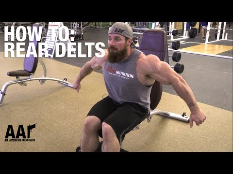 Seth Feroce How-To: Rear Delts