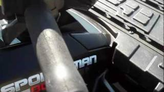8. 2008 Polaris Sportsman 800 Stealth For Sale