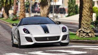 GTA 5 Siêu Xe Ferrari 599 GTO Siêu Chiến Mã Đi Thể hiện Và Cái kết Nhập Viện