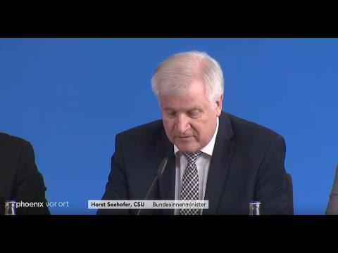 Fall Lübcke: Pressekonferenz von Bundesinnenminister  ...