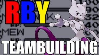 ✔ BEST POKEMON Red/Blue/Yellow TEAM BUILDING GUIDE - POKEMON RBY Walkthrough by Verlisify