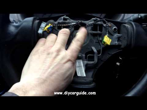 Peugot 206 Steering Wheel With Airbag Removal