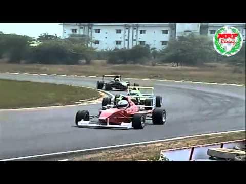 MRF Formula Championship 2011 - Round 2 - Chennai - Race 1 - 12 February