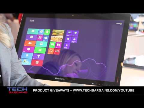 Lenovo CES 2013 IdeaCentre A730 Preview (HD)