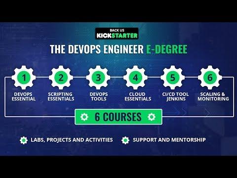 The DevOps Engineer E-Degree | Kickstarter | Upcoming Project | Eduonix