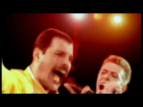 Queen & David Bowie - Under Pressure (Classic Queen Mix) (видео)