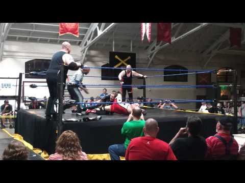 Drago & Logan Caine vs Tommy Blaze & Vandal Part 1 5/4/13