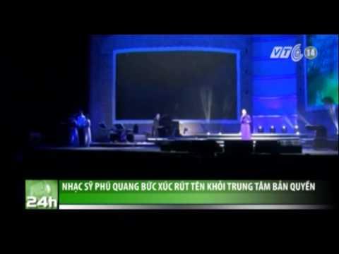 Nhạc sĩ Phú Quang bức xúc rút tên khỏi Trung tâm bản quyền