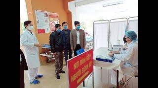 TP Uông Bí kiểm tra công tác kiểm soát, cách ly phòng chống dịch Corona