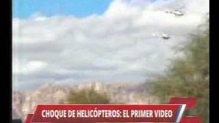Argentine : le crash des hélicoptères en vidéo