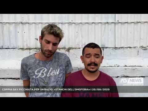 COPPIA GAY PICCHIATA PER UN BACIO: «STANCHI DELL'OMOFOBIA» | 20/09/2020