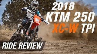 1. 2018 KTM 250 XC-W TPI | Ride Review