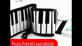 Piano Portátil enrollable