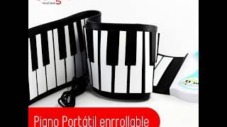 Piano Portátil enrollable