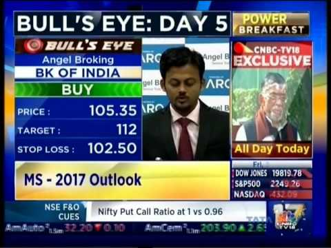 CNBC Bulls Eye Day 5, 30 Dec 2016 - Mr. Sameet Chavan, Angel Broking