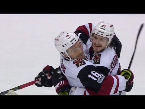 Video: Coyotes' Ekman-Larsson beats Maple Leafs' Andersen thanks to Dvorak's screen