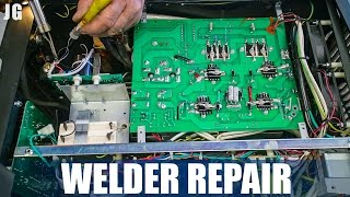 Here I am replacing the High Frequency start up part in my Everlast PowerTig 210EXT welder. It was still under warranty so they were able to send me out the part. Took about an hour to swap the part out completely, but better that than having to send it away for weeks, plus I learned a little something. Don't forget to Subscribe! https://goo.gl/kWECHLLAST BUILD VIDEO: https://youtu.be/5eM_33b5AxYCheck out Jimbo's Metal Working videos here: http://bit.ly/20Dpj8t FOLLOW JIMBO!Facebook: https://www.facebook.com/TheOfficialJimbosGarage/Twitter: https://twitter.com/JimbosGarageInstagram: https://www.instagram.com/jimbosgarage/Where to buy Jimbos Tools:FEIN Tools Multitool: http://amzn.to/2fQ0zxwYost Vice: http://amzn.to/2cbbUq4DeWalt Mag Drill: http://amzn.to/2bPPNVzRikon Band Saw: http://amzn.to/2c21EvxEverlast Welder: http://amzn.to/2c8Dcf2Dewalt Table Saw: http://amzn.to/2cCLrm7Rikon Lathe: http://amzn.to/2bPPA4IBosch Miter Saw: http://amzn.to/2c3DMb3Ryobi Grinder: http://amzn.to/2c7afzoRyobi Drill Press: http://amzn.to/2c3DFfHRyobi Belt Sander: http://amzn.to/2cbaI62Husky Tool Box: http://amzn.to/2c3EntkEVERLAST Power Tig 210EXT: http://amzn.to/2pPBSl1EVERLAST Plasma Cutter 60S: http://amzn.to/2pyBZlOJimbo's Garage is a channel to find the how to's of welding, wood & other fun projects. Also see reviews on popular tool brands like FEIN, HILTI, DEWALT, MIKITA, RYOBI and more!