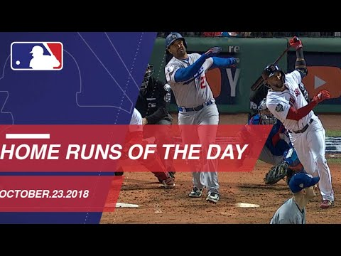 Video: Watch all the home runs for October 23, 2018