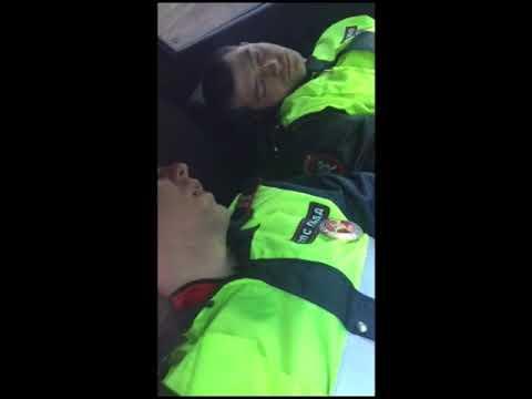 Амурчанин перепугал уснувших на рабочем месте полицейских