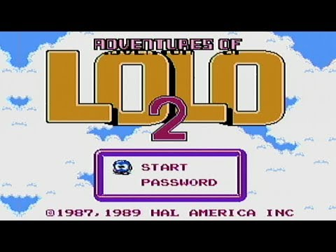 Adventures of Lolo 2 Wii
