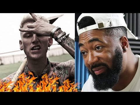 "Machine Gun Kelly ""Rap Devil"" (Eminem Diss) - REACTION"