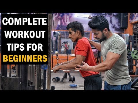 Fat burner - TOP 5 Gym Workout Tips for Beginners in Hindi