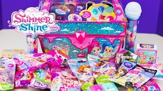 HUGE Shimmer and Shine Magic Surprise Toy Chest My Little Pony Shopkins Frozen Kinder Playtime