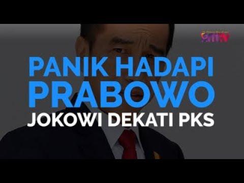 Panik Hadapi Prabowo, Jokowi Dekati PKS