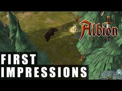 Albion Online Early Alpha Access Gameplay | First Impressions HD