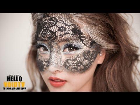 [VOIDTV] 바로크 시대 베네치아 마스크 스타일 창작 메이크업