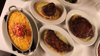 Phantom Gourmet's Dan Andelman gets a taste of the new Ruth's Chris Steakhouse in Waltham.