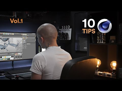 10 Dope Cinema4D Tips Vol.1