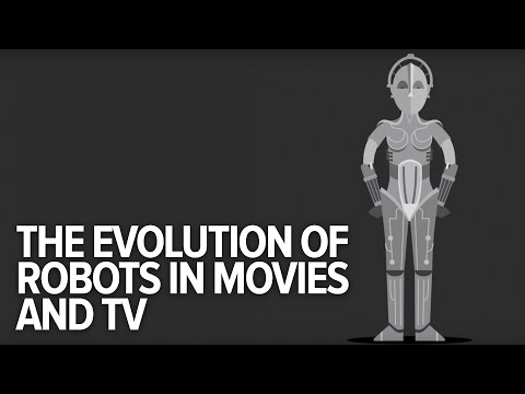 The Evolution Of Robots In Movies and TV