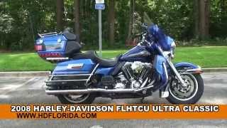 7. Used 2008 Harley Davidson Ultra Classic Electra Glide Motorcycles for sale