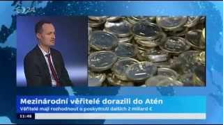 Věřitelé kontrolují Řecko