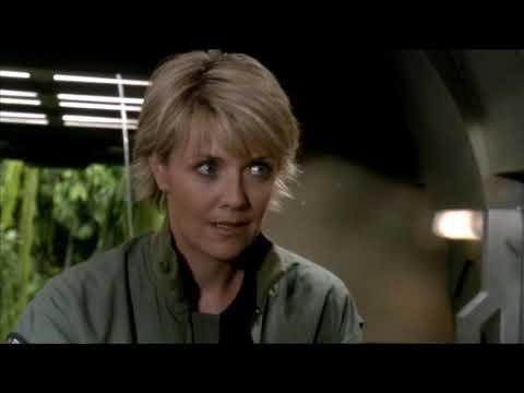 Stargate SG1 - O'Neill Destroys A Goa'uld Ship (Season 8 Ep. 13) EDITED
