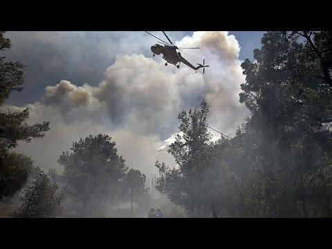 Ελλάδα: Υπό έλεγχο όλα τα πύρινα μέτωπα